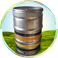 Keg Ciders with S Type Fittings